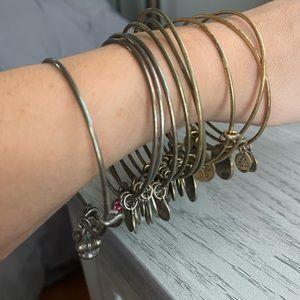 Alex and Ani Bracelets Set